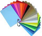 Spalvotos plastikinės kortelės-ruošiniai